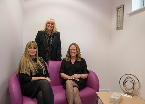 Mannvend supporting Manx Breast Cancer Support Group with opening of 'Quiet Room' they sponsor at Manx Breast Unit.