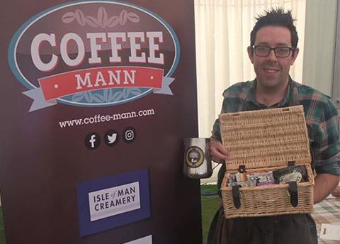 Our very own Dan Carpenter wins the Barista championship at the IOM food Festival.