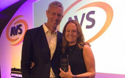 Tracey Leahy of Mannvend wins coveted Vending award in Portugal