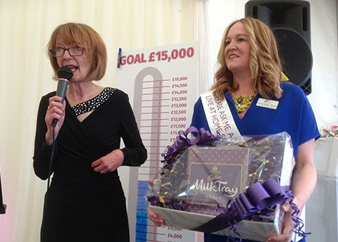 Tracey Leahy is appointed first patron of Live at Home schemes charity