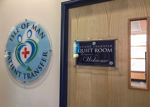 Isle of Man airport 'quiet room' opens for patients in transit